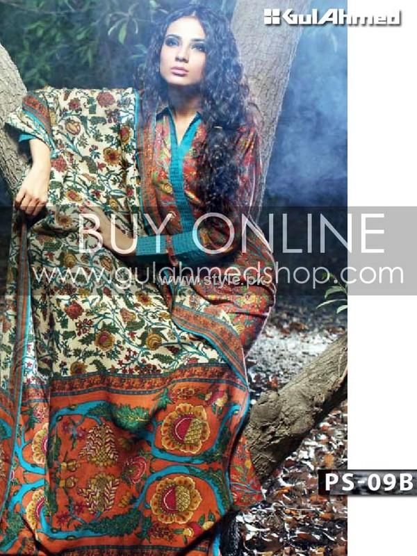 Gul Ahmed Pashmina Collection 2012-13 for Women