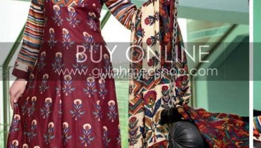 Gul Ahmed Pashmina Collection 2012-13 for Women 014