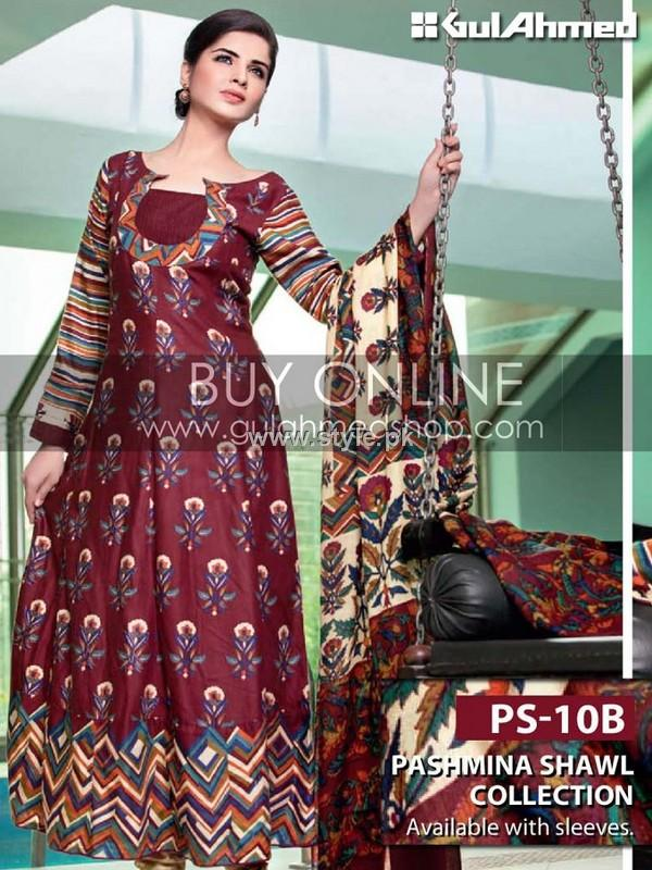 399f1bd7cb Gul Ahmed Pashmina Collection 2012-13 for Women
