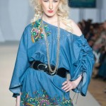 Hasina Khanani Western Collection 2012-2013 At PFW 3, London 0013