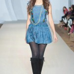 Hasina Khanani Western Collection 2012-2013 At PFW 3, London 004