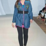 Hasina Khanani Western Collection 2012-2013 At PFW 3, London 005