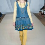 Hasina Khanani Western Collection 2012-2013 At PFW 3, London 009