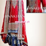 Hina Khan Latest Bridal And Formal 2013 Collection 001
