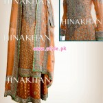 Hina Khan Latest Bridal And Formal 2013 Collection 002