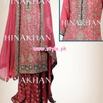 Hina Khan Latest Bridal And Formal 2013 Collection 004