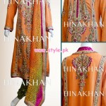 Hina Khan Latest Semi Formal Collection For Women 2013 005 150x150 pakistani dresses bridal dresses