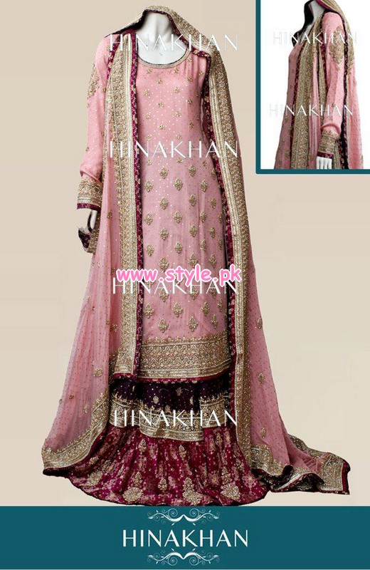 Hina Khan Latest Semi Formal Collection For Women 2013 006 pakistani dresses bridal dresses