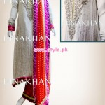 Hina Khan Latest Semi Formal Collection For Women 2013 008 150x150 pakistani dresses bridal dresses