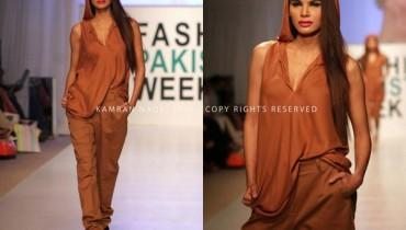 Ishtiaq Afzal Khan Western Collection 2012 At PFW 3, London 001
