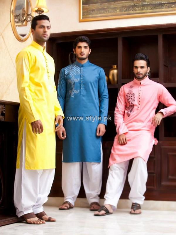 Kurta Shalwar 2013 For Men 002 style exclusives men wear