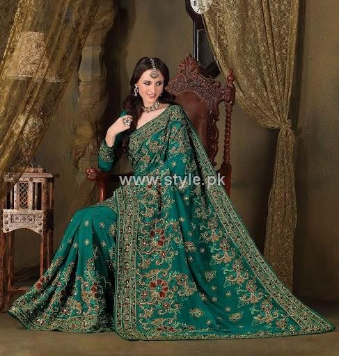 Latest Designer Sarees 2013 in Fashion 007 style exclusives