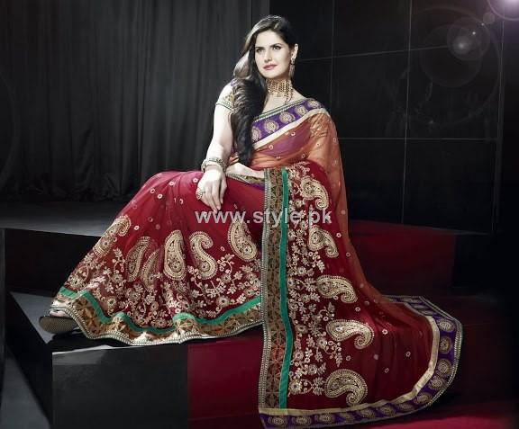 Latest Designer Sarees 2013 in Fashion