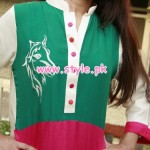 Latest Engrave Winter Party Dresses 2013 For Women 005