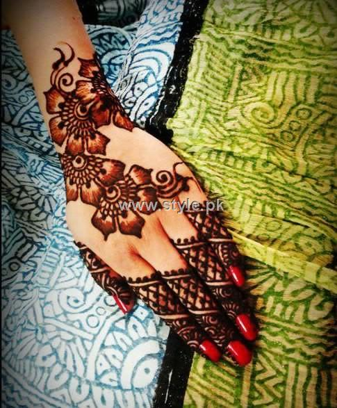 Mehndi Designs 2013 For Girls in Pakistan 009 mehandi