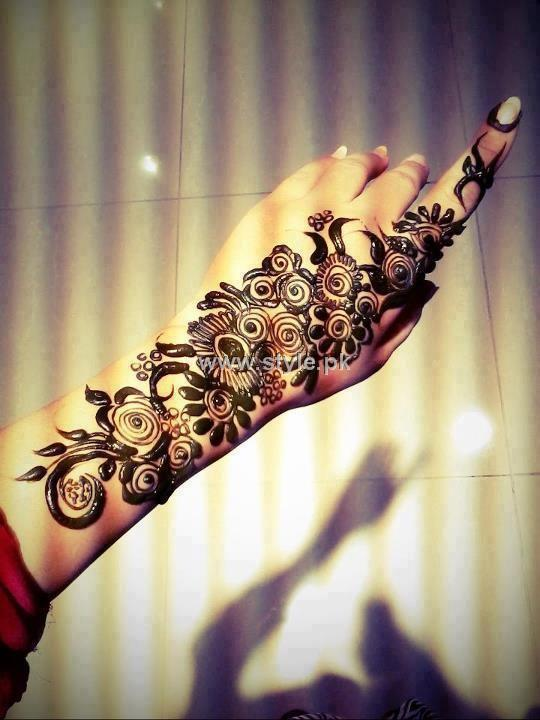 Mehndi Designs 2013 For Girls in Pakistan 010 mehandi