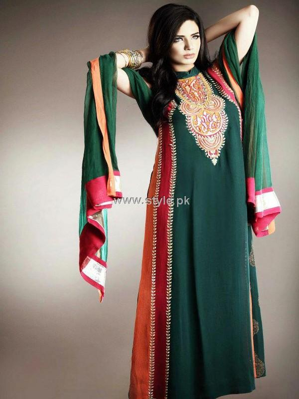 party wear dresses 2013 for girls new fashion trends 600x800