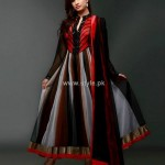 Party Wear Dresses 2013 For Girls – New Fashion Trends 003 150x150 style exclusives local designer clothes for women