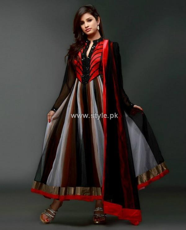 Party Wear Dresses 2013 For Girls – New Fashion Trends 003 style exclusives local designer clothes for women