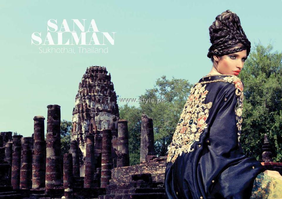 Sana Salman Rafi Haute Couture 2012-13 for Women