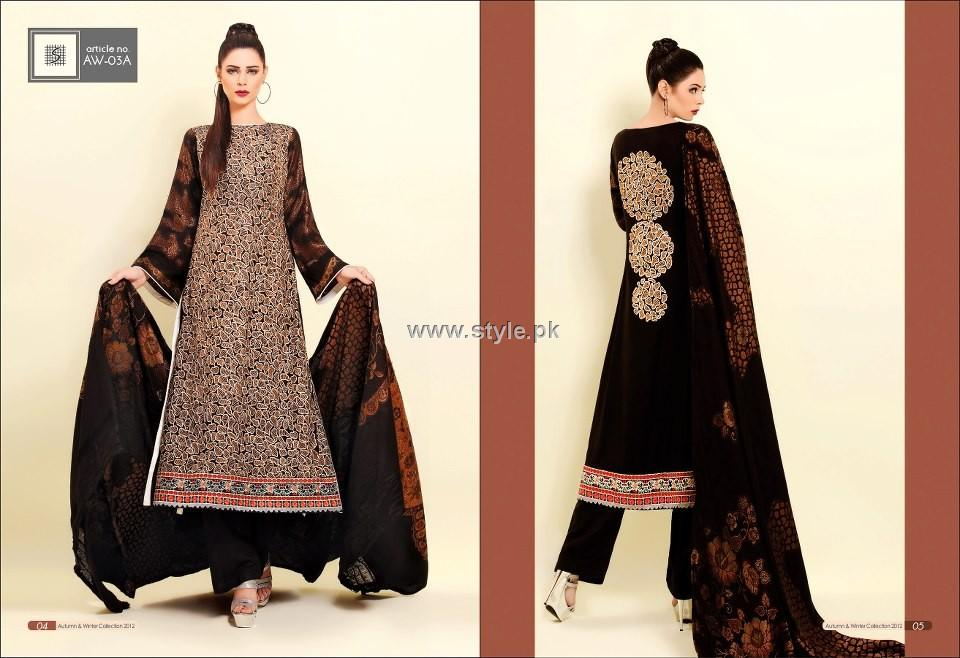 Shaista Winter Fabrics 2012-13 Collection New Designs