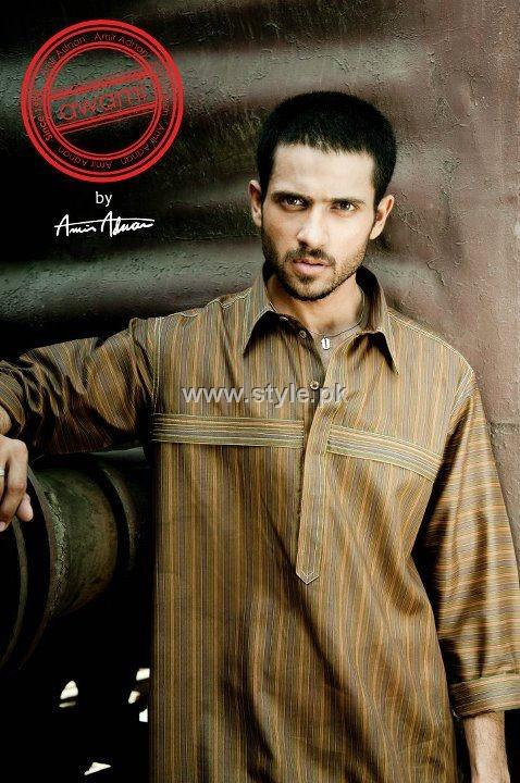 Shalwar Kameez 2013 Designs For Men 001 style exclusives men wear