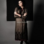Yasmin Zaman New Winter Dresses 2012-13 for Women 011