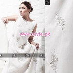 Ayesha And Usman Qamar Party Dresses 2013 For Girls 001
