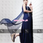 Ayesha And Usman Qamar Party Dresses 2013 For Girls 003