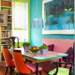 Colorful Dining Room Decoration Ideas 2013 0013