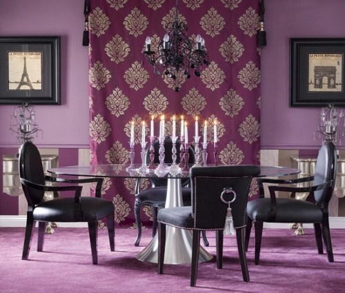 Colorful dining room decoration ideas for Dining room ideas 2013