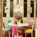 Colorful Dining Room Decoration Ideas 2013 004