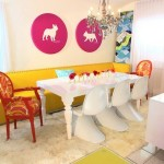 Colorful Dining Room Decoration Ideas 2013 007