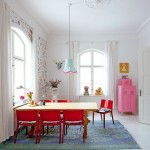 Colorful Dining Room Decoration Ideas 2013 008