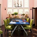 Colorful Dining Room Decoration Ideas 2013 009