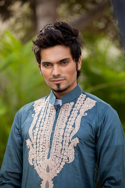Deepak And Fahad Winter Kurta Collection 2013 For Men 0028