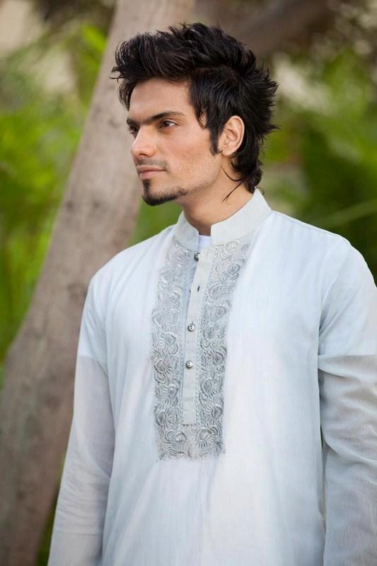 Deepak And Fahad Winter Kurta Collection 2013 For Men
