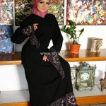 Designs Of Abayas 2013 For Girls 008