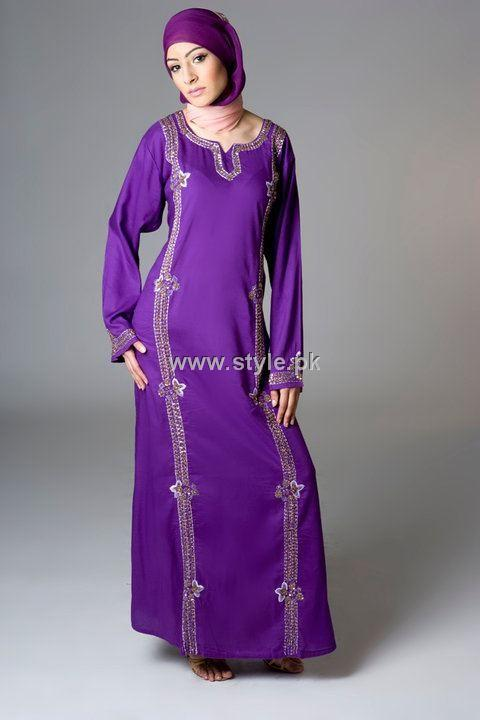 Designs Of Abayas 2013 For Girls
