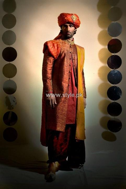 Designs of Sherwani for Men 2013 004 style exclusives