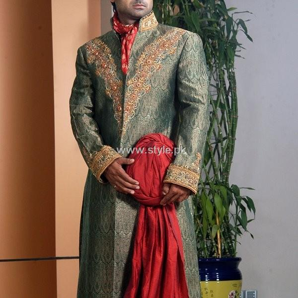 Designs of Sherwani for Men 2013 005 style exclusives