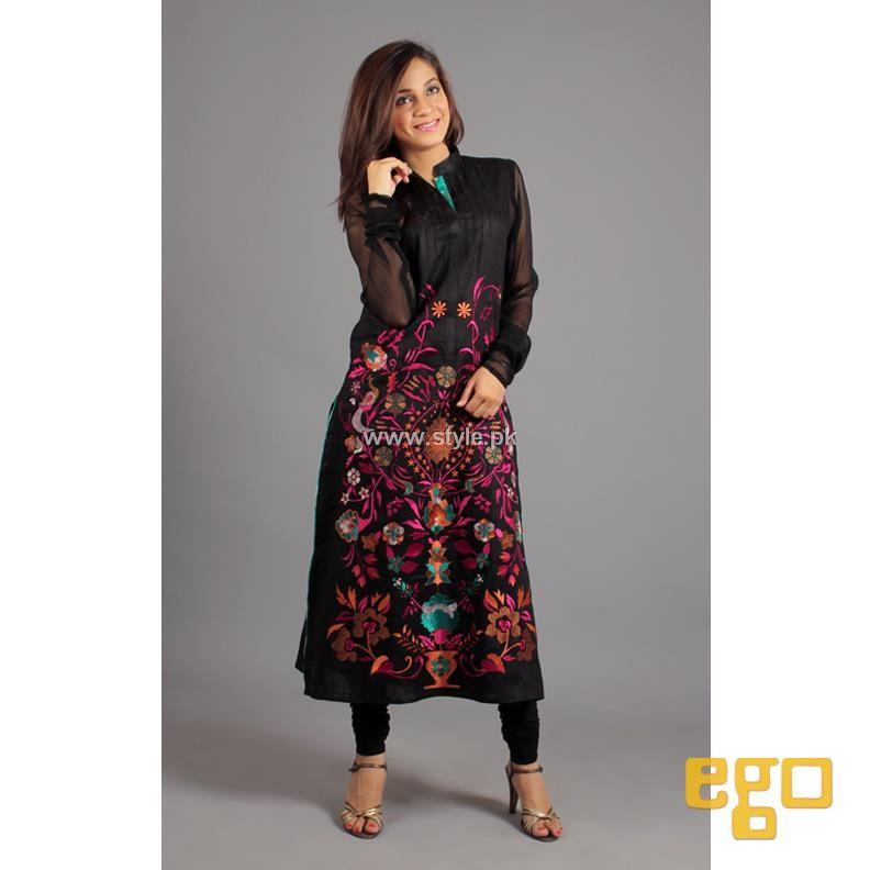 Ego New Winter Casual Dresses 2013 For Ladies 001