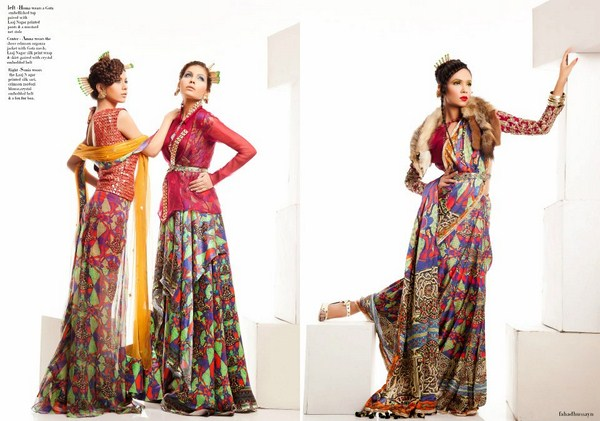 Fahad Hussayn Laaj Nagar Collection 2013 For Women 008