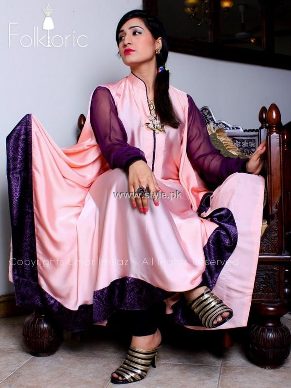 Folkloric Winter Collection 2013 for Girls
