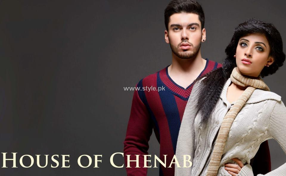 House of Chenab Winter Collection 2013 for Ladies and Gents