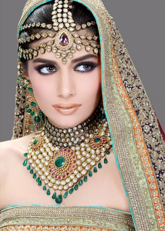 Latest Bridal Makeup and Photoshoot By Ather Shahzad