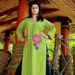 Latest Fashion Of Casual Wear Dresses For Girls 2013 002