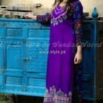 Latest Fashion Of Casual Wear Dresses For Girls 2013 012
