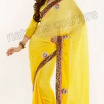 Natasha Couture Winter Sarees Collection 2013 For Women 001