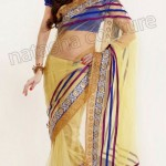 Natasha Couture Winter Sarees Collection 2013 For Women 0010